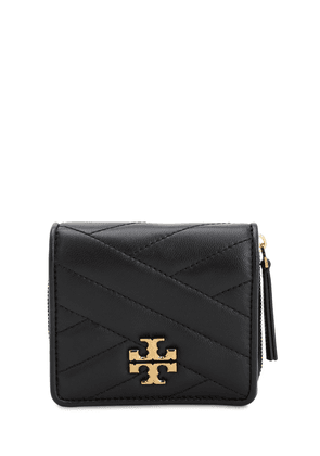 Kira Quilted Leather Compact Wallet