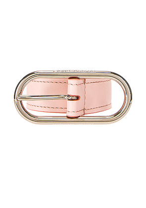 Acne Studios Masculine Thin Belt in Rose Pink - Pink. Size L (also in M).