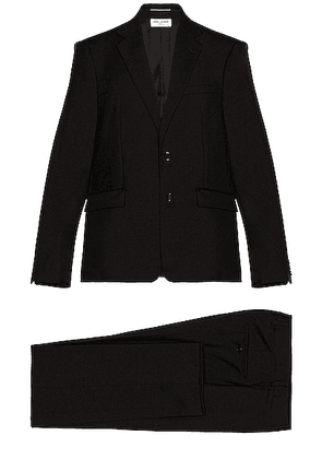 Saint Laurent Classic Suit in Black - Black. Size 46 (also in 48, 50).