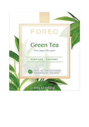 FOREO UFO Mask 6 Pack in Green Tea - Beauty: NA. Size all.