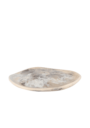 DINOSAUR DESIGNS Large Pebble Platter in Sandy Pearl - Beauty: NA. Size all.