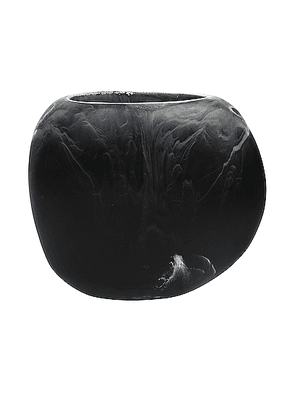 DINOSAUR DESIGNS Large Rock Vase in Black Marble - Beauty: NA. Size all.