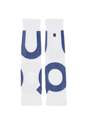 On White Clubhouse Performance Sleeves