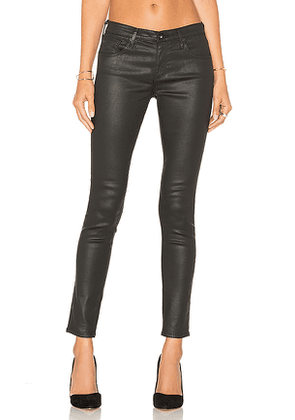 AG Adriano Goldschmied Legging Ankle in Black. Size 24, 25, 26, 27, 28, 29, 30.