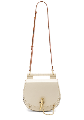 Sancia Babylon Bar Tooth Bag in Ivory.