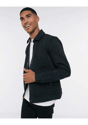 Ted Baker dane twill jacket in black