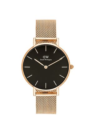 Daniel Wellington Petite Melrose 32mm Watch in Metallic Gold.