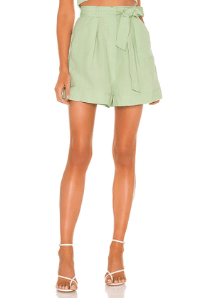 C/MEO Possible Short in Green. Size S, XS.