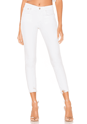 AGOLDE Sophie High Rise Skinny Crop. Size 25, 29, 30, 32.
