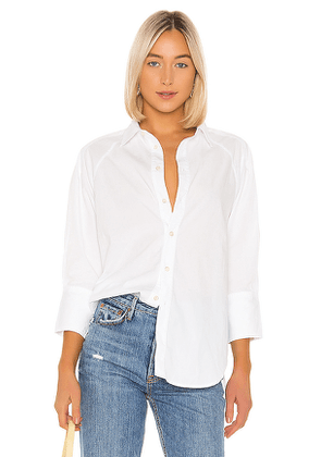 Citizens of Humanity Sybil Shirt in White. Size L.