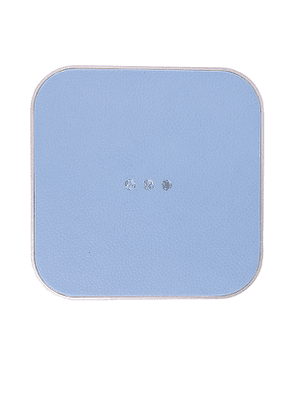 Courant Catch:1 Wireless Charger in Baby Blue.
