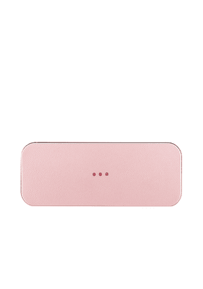 Courant Catch:2 Wireless Charging Tray in Pink.
