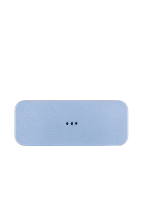 Courant Catch:2 Wireless Charging Tray in Baby Blue.