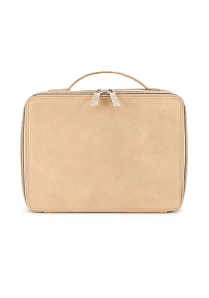 BEIS Cosmetic Case in Beige.
