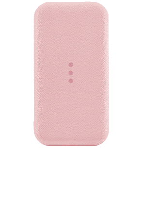 Courant Carry:1 Portable Charger in Pink.