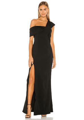 C/MEO Caliber Gown in Black. Size M.