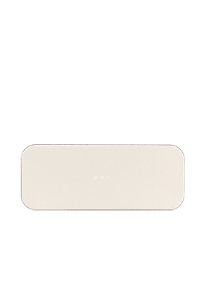 Courant Catch:2 Wireless Charging Tray in Cream.