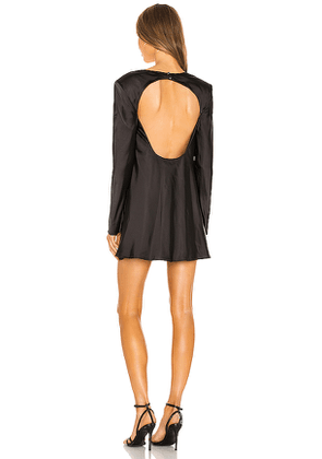 C/MEO x REVOLVE Polarised Dress in Black. Size XS.