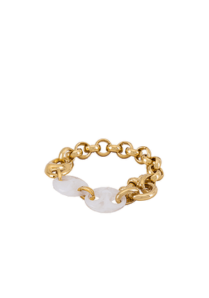 joolz by Martha Calvo Marin Bracelet in Metallic Gold.
