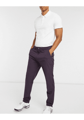 adidas Golf tapered trousers in purple-Blue