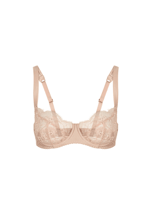 Fleur Of England Signature Blush Lace Balcony Bra