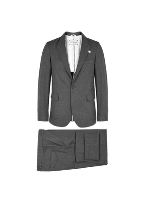 Oliver Spencer Grey Cotton Suit