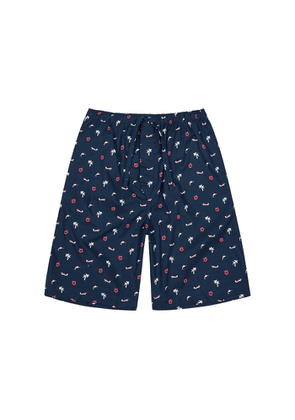 Derek Rose Nelson 77 Printed Cotton Shorts