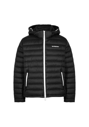 Burberry Black Quilted Shell Jacket
