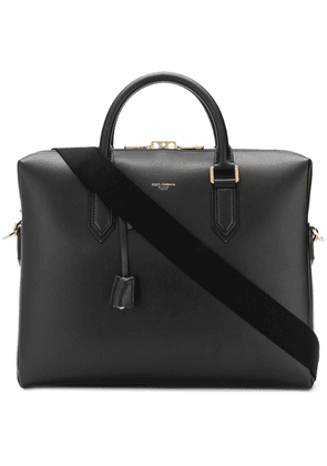 Dolce & Gabbana leather laptop bag - Black