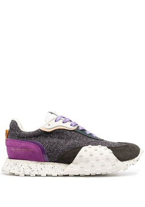 Filling Pieces Crease Runner panelled sneakers - PURPLE