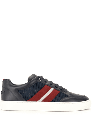 Bally signature-stripe low-top sneakers - Blue