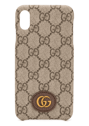 Gucci GG Ophidia iPhone XS Max case - Neutrals