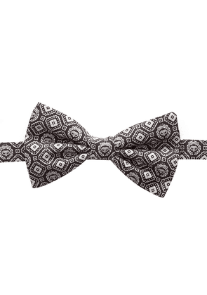 Dolce & Gabbana patterned bow tie - Brown