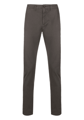 Department 5 slim-fit cotton chinos - Brown