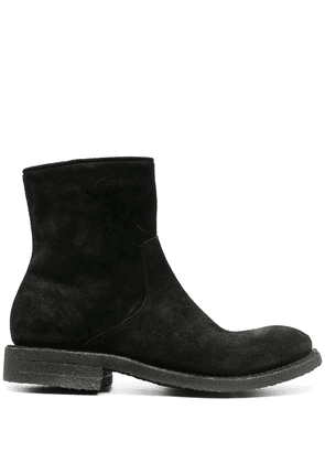 Del Carlo leather ankle boots - Black