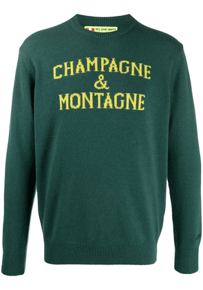 Mc2 Saint Barth Champagne & Montagne knitted jumper - Green