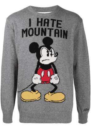 Mc2 Saint Barth Angry Mickey knitted jumper - Grey