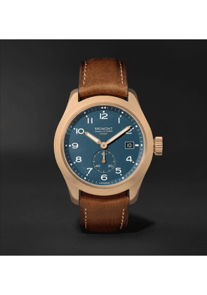 Bremont - Broadsword Automatic Chronometer 40mm Bronze and Nubuck Watch - Men - Green