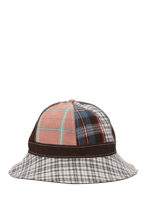 Patchwork Cotton Explorer Hat