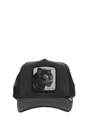 Reflective Panther Trucker Hat W/patch