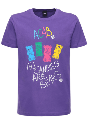 All Candies Are Bears Printed T-shirt