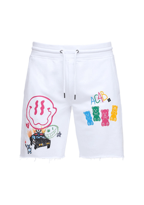 All Candies Are Bears Printed Shorts
