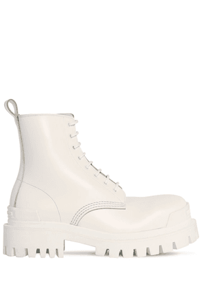 60mm Strike Leather Combat Boots