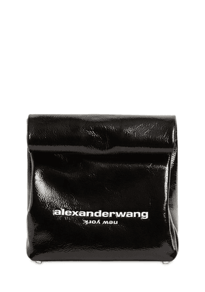 Patent Leather Lunch Bag