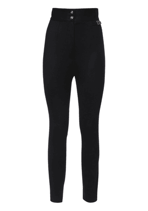 Sallia High Waist Stretch Pants W/ Logo