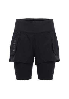 Ua Run Anywhere 2n1 Shorts