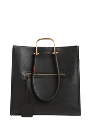 The Tall Story Bicolor Leather Tote