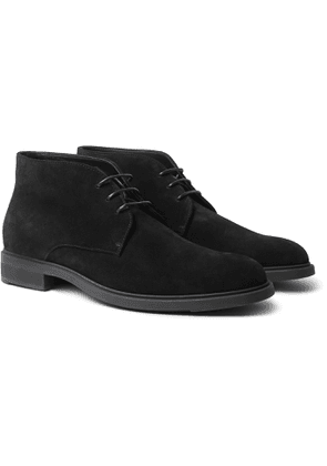 Hugo Boss - Suede Desert Boots - Men - Black