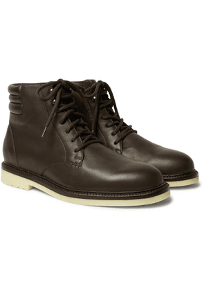 Loro Piana - Icer Walk Leather Boots - Men - Brown