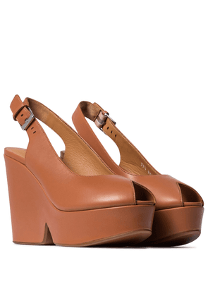 Dylan leather platform sandals